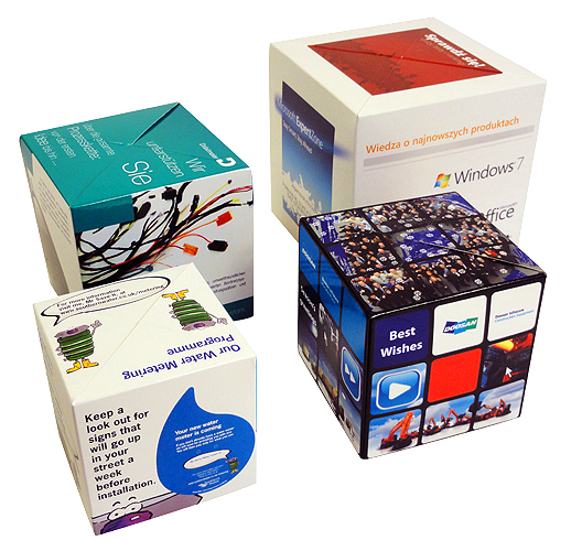 Advertising And Promotional Mugs In Montebello California Mail: Pop Up Cube, Versatile Cube-shaped Pop Up Mailer