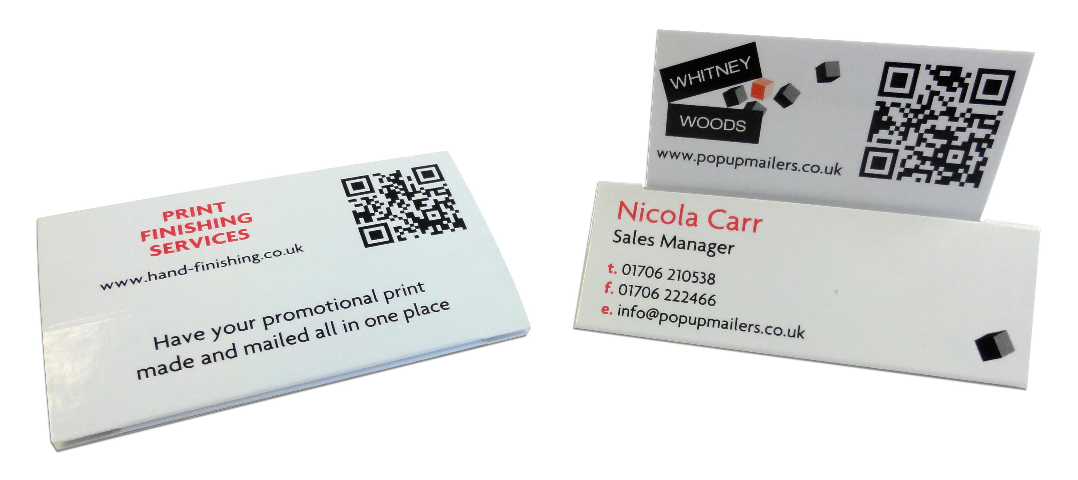 Fun Business Card Ideas - 3D Business Cards