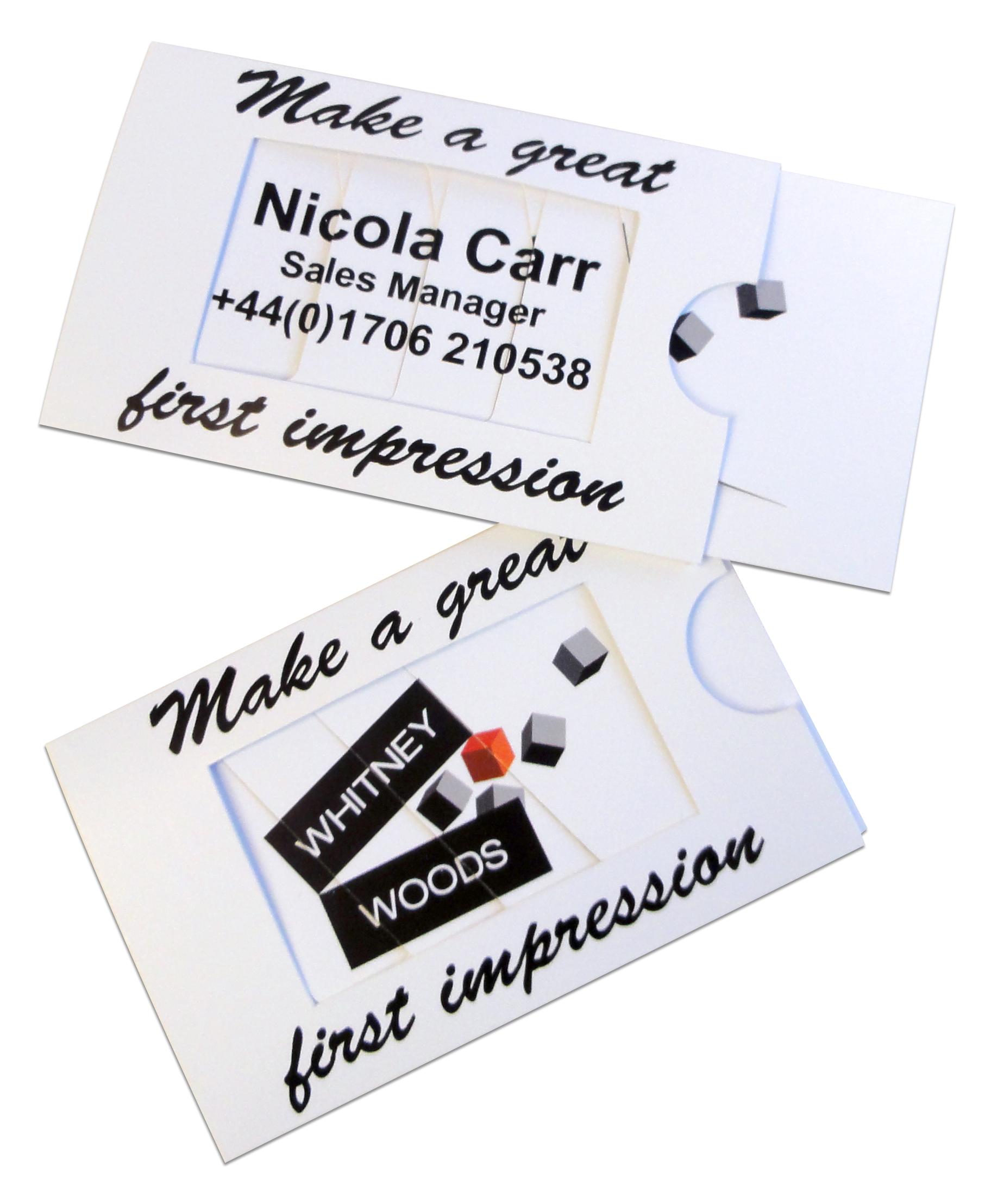 Fun business card ideas 3d business cards startstop colourmoves