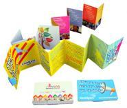 Concertina leaflets mini folded brochures popup mailers foldilocks colourmoves